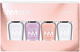 Духи, Парфюмерия, косметика Подарочный набор - Zoya Naked Manicure Woman Kit (base/7.5 ml + polish/7.5 ml + polish/7.5 ml + top/7.5 ml)