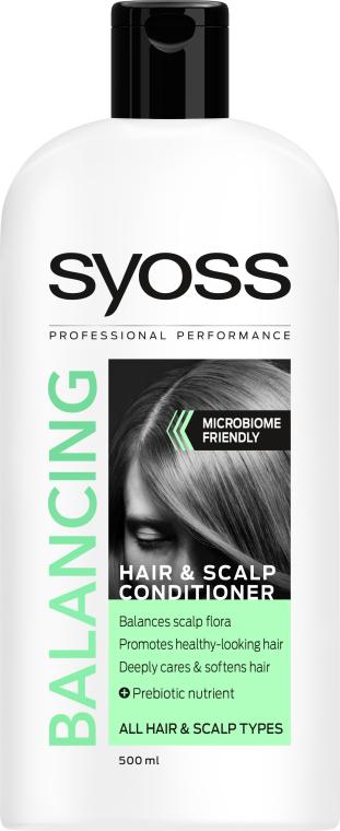 Бальзам для всех типов волос и кожи головы - Syoss Balancing
