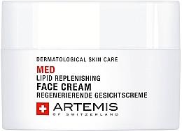 Духи, Парфюмерия, косметика Восстанавливающий липидный крем для лица - Artemis of Switzerland Med Lipid Replenishing Face Cream