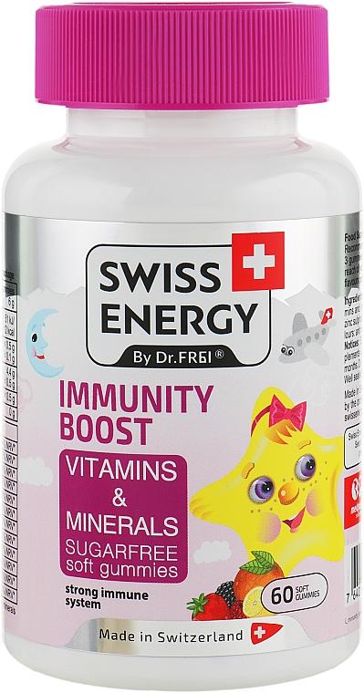 "Витамины для детей ""Immunity Boost"" - Swiss Energy Vitamins & Minerals"