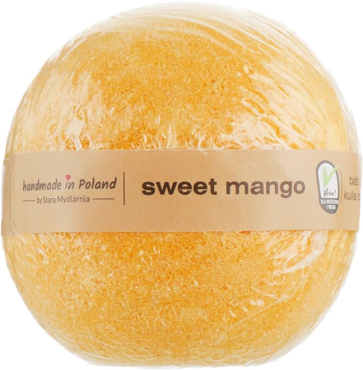"Бомба для ванны ""Сладкое манго"" - Stara Mydlarnia Bath Bomb Sweet Mango"