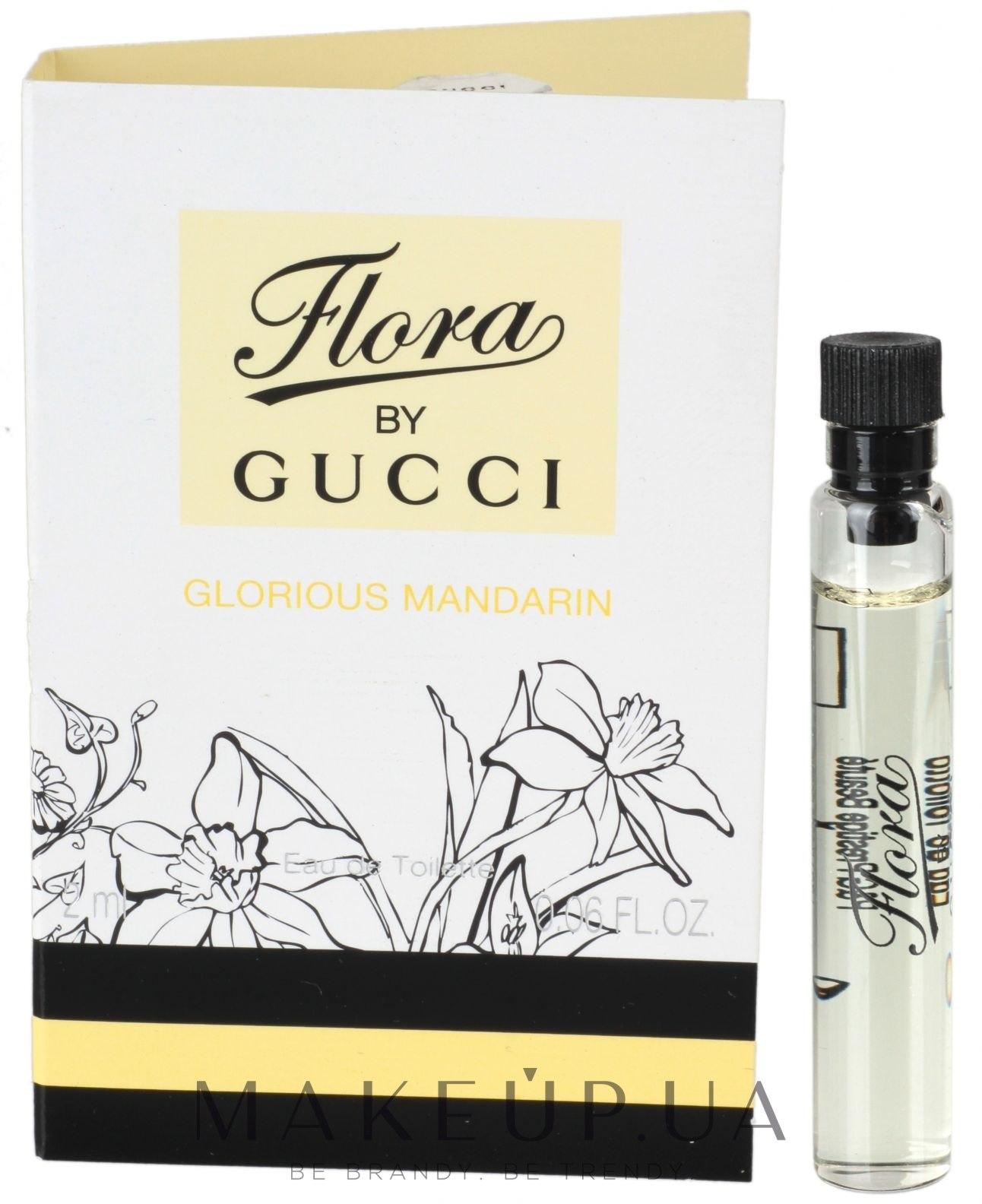a3e8c949f564 MAKEUP   Отзывы о Gucci Flora by Gucci Glorious Mandarin - Туалетная вода  (пробник)