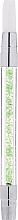 Духи, Парфюмерия, косметика Силиконовая кисточка для декорирования с зелеными кристаллами - Elisium