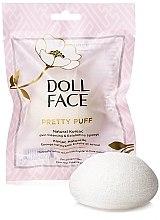 Духи, Парфюмерия, косметика Спонж для лица - Doll Face Pretty Puff Original Natural Konjac Skin Cleansing & Exfoliating Sponge