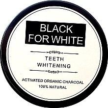 Отбеливающий зубной порошок c активированным углем - Biomika Black For White Teeth Whitening — фото N2