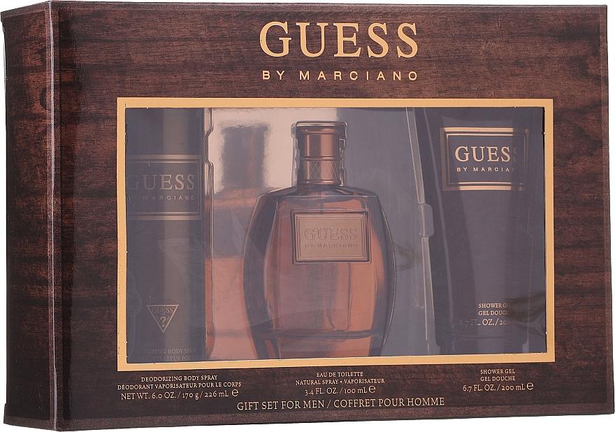 Guess by Marciano - Набор (edt/100ml + sh/gel/200ml + deo/226ml): купить по лучшей цене в Украине | Makeup.ua