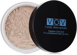 Духи, Парфюмерия, косметика Рассыпчатая пудра с эффектом мерцания - VOV Candy Shine Powder