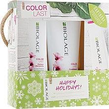Духи, Парфюмерия, косметика Набор - Biolage Colorlast Happy Holidays! (shm/250ml + cond/200ml)