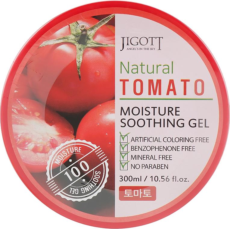 Универсальный гель для лица и тела с экстрактом томата - Jigott Natural Tomato Moisture Soothing Gel