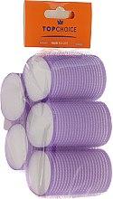 Духи, Парфюмерия, косметика Бигуди 5 шт, 41мм, 3448, фиолетовые - Top Choice