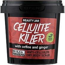 """Парфумерія, косметика Скраб для тіла антицелюлітний """"Cellulite Killer"""" - Beauty Jar Anti-Cellulite Dry Body Scrub"""