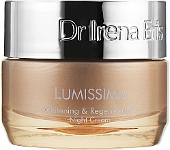 Духи, Парфюмерия, косметика Восстанавливающий ночной крем - Dr. Irena Eris Lumissima Whitening & Regenerating Night Cream