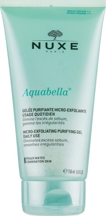 Нежный очищающий эксфолиирующий гель - Nuxe Aquabella Exfoliating Purifying Gel