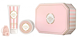 Духи, Парфюмерия, косметика Pupa Miss Princess Kit Medium 1 White Tea - Набор(sh/milk/200ml + b/cr/100ml + infusore)