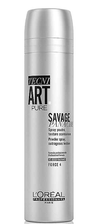 Текстурирующая пудра-спрей для супер объема - L'Oreal Professionnel Tecni.art Savage Panache