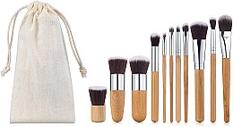 Духи, Парфюмерия, косметика Набор кистей для макияжа 11шт - Aise Line Makeup Brush Set