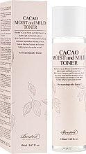 Духи, Парфюмерия, косметика Тонер с маслом какао - Benton Cacao Moist and Mild Toner