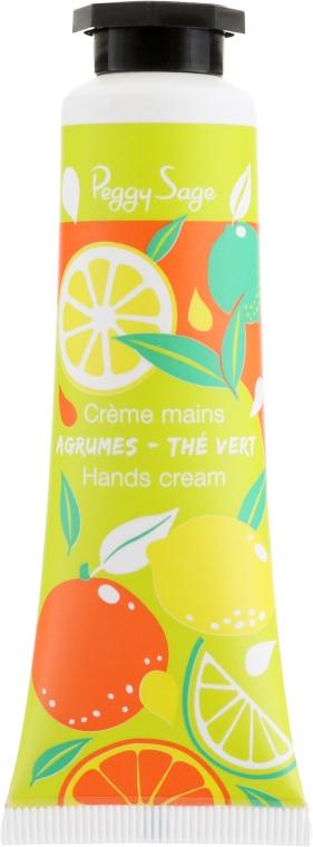 """Крем для рук """"Цитрус и зеленый чай"""" - Peggy Sage Fragrant Citrus & Green Tea Hand Cream"""
