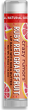Духи, Парфюмерия, косметика Бальзам для губ - Crazy Rumors Ruby Red Grapefruit Lip Balm