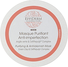 Духи, Парфюмерия, косметика Очищающая и балансирующая маска - EffiDerm Visage Masque Purifiant & Reequilibrant