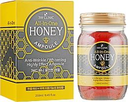 Духи, Парфюмерия, косметика Медовая многофункциональная сыворотка - 3w Clinic All In One Honey Ampoule