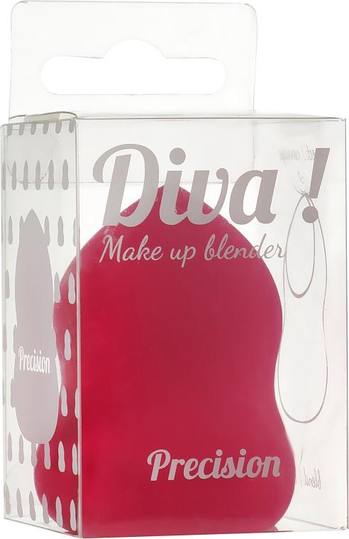 Спонж для макияжа, красный - Sibel Diva Make Up Blender