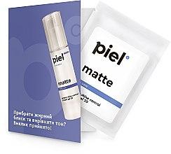 Духи, Парфюмерия, косметика Увлажняющий дневной крем с матирующим эффектом - Piel Cosmetics Youth Defence Silver Cream Matte Face Care Day SPF20 (пробник)
