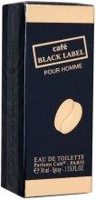 Духи, Парфюмерия, косметика Cafe Parfums Cafe Black Label - Туалетная вода (тестер без крышечки)