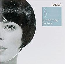 Духи, Парфюмерия, косметика Набор пробников для слабых и безжизненных волос - Lakme K.Therapy Active