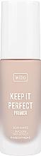 Духи, Парфюмерия, косметика Праймер-основа под макияж - Wibo Keep It Perfect Soft Matte