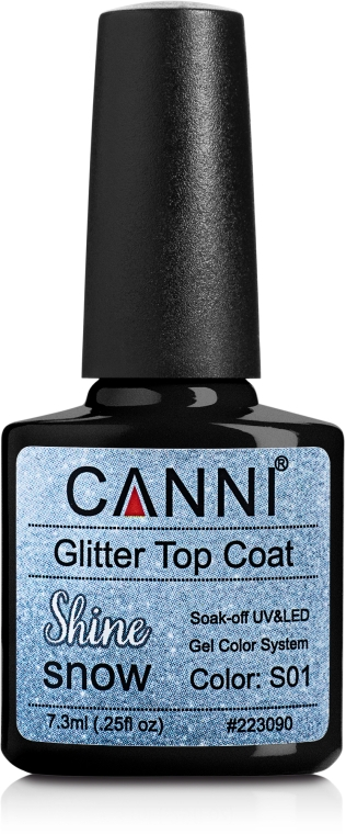 Глиттернный топ - Canni Glitter Top Coat