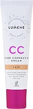 Духи, Парфюмерия, косметика Тональный крем - Lumene CC Color Correcting Cream