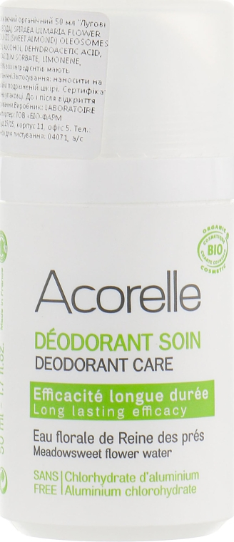 """Минеральный роликовый дезодорант """"Луговые цветы"""" - Acorelle Deodorant Roll On"""
