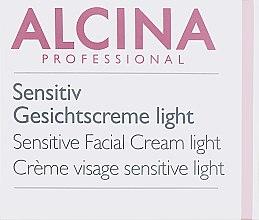 Духи, Парфюмерия, косметика Крем для чувствительной кожи - Alcina S Sensitive Facial Cream Light