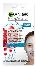 Духи, Парфюмерия, косметика Увлажняющая аква-маска для лица - Garnier SkinActive Aqua Mask