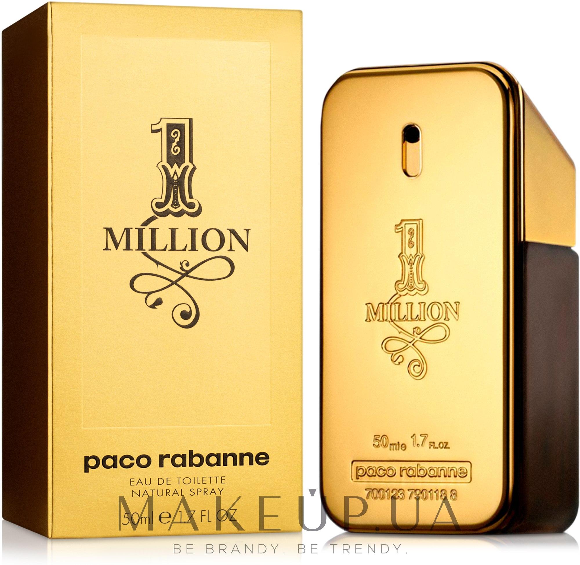 Paco Rabanne 1 Million - Туалетная вода — фото 50ml