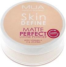 Духи, Парфюмерия, косметика Рассыпчатая пудра для лица - MUA Skin Define Matte Perfect Loose Powder