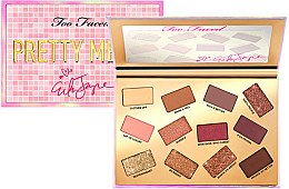 Палетка теней для век - Too Faced Erika Jayne Pretty Mess EyeShadow Palette — фото N2