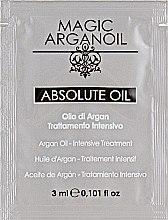 Духи, Парфюмерия, косметика Масло для интенсивного лечения волос - Nook Magic Arganoil Absolute Oil (пробник)