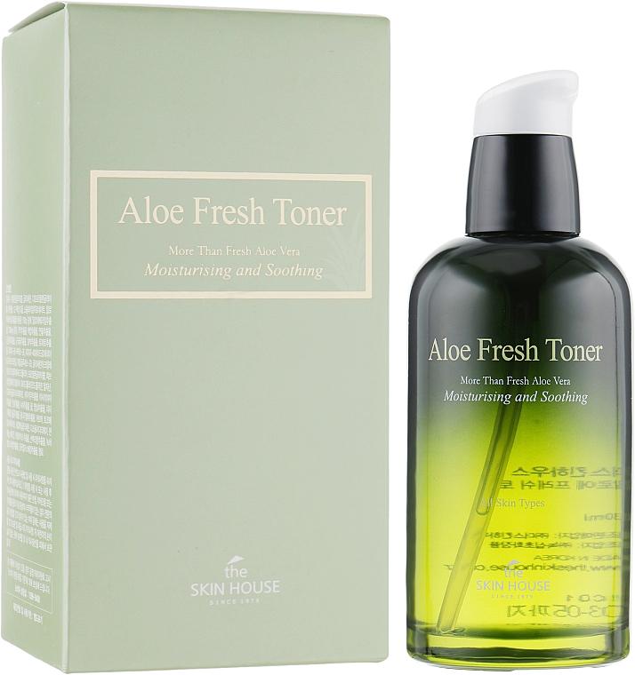 Увлажняющий тонер с экстрактом алоэ - The Skin House Aloe Fresh Toner