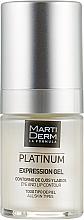Духи, Парфюмерия, косметика Гель для кожи вокруг глаз и губ - MartiDerm Platinum Expression Gel