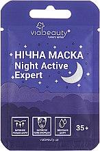 Духи, Парфюмерия, косметика Ночная маска для лица - Via Beauty Night Active Expert 35+