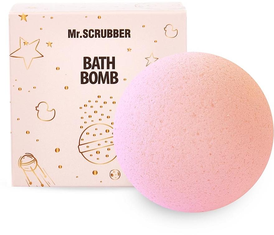 """Бомбочка для ванны """"Клубника-сливки"""" в подарочной коробке - Mr.Scrubber"""