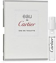 Духи, Парфюмерия, косметика Cartier Eau de Cartier - Туалетная вода (пробник)