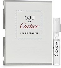 Cartier Eau de Cartier - Туалетная вода (пробник) — фото N1