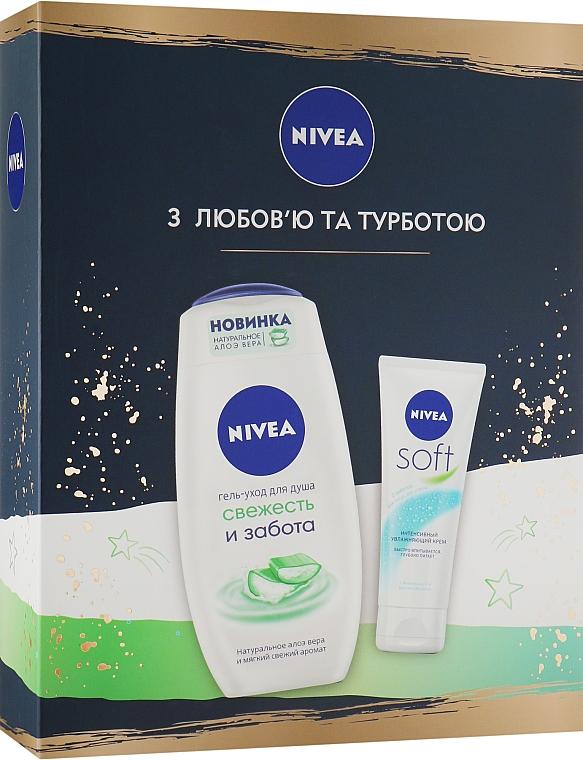 Набор - Nivea (cream/75ml + sh/gel/250ml)