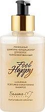 Духи, Парфюмерия, косметика Роскошный шампунь-кондиционер для волос парфюмированный - Белита-М Feel Happy Luxurious Perfumed Conditioning Shampoo