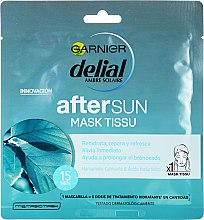 Духи, Парфюмерия, косметика Маска для лица - Garnier Ambre Solaire AfterSun Mask Tissu