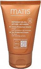 Духи, Парфюмерия, косметика Солнцезащитный крем для лица - Matis Reponse Soleil Sun Protection Cream SPF 20