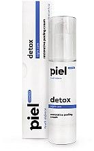 Духи, Парфюмерия, косметика Ночной регенерирующий крем с пилинг-эффектом - Piel Cosmetics Specialiste Silver Cream Detox